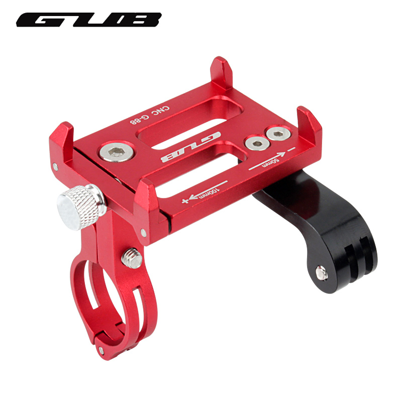 GUB Universal Bike Handlebar Holder Mount Metal Phone Holder Stand For 3.5-6.2inch iphone Samsung LG Gopro Action Camera
