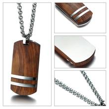 Top Rosewood Men Necklace