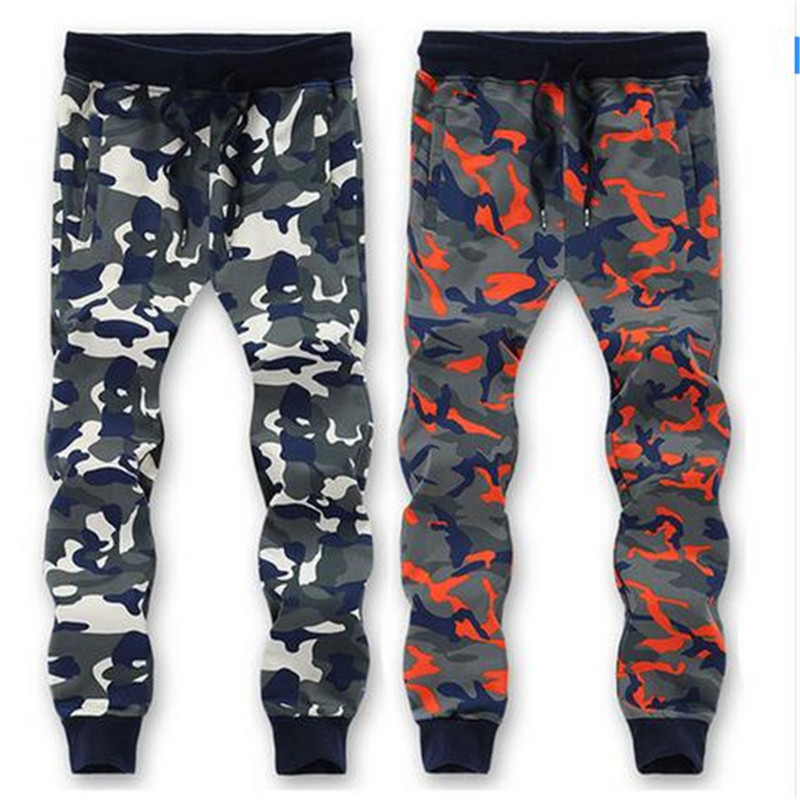 RLX XW 95% Cotton Camouflage Sweatpants Men Trousers