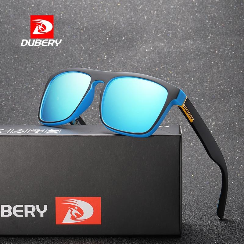 DUBERY 2018 Polarized Sunglasses Men's Aviation Driving Shades Male Sun Glasses For Men Retro Cheap Luxury Brand Designer Oculos