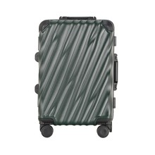 """Carry-On Deep Hardside Aluminum Frame Luggage  Great Intensity 20"""" Suitcase Scratch-Resistant 2 TSA Locks Business Trip Trolley"""