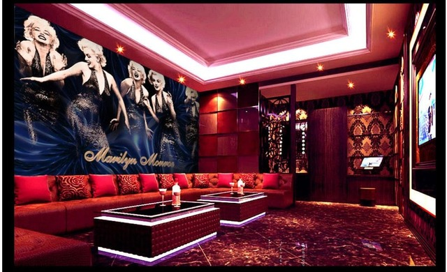 Customized 3d Photo Wallpaper 3d Wall Murals Wallpaper Marilyn Monroe Shoot  Five Background Wall Paper 3d Nice Ideas