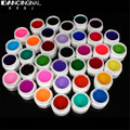 Pro 36 Colors Nail Art UV Gel Varnish Different Mix Pure Colour Builder Gels Decor Beauty Sets Salon DIY Manicure Designs Tools
