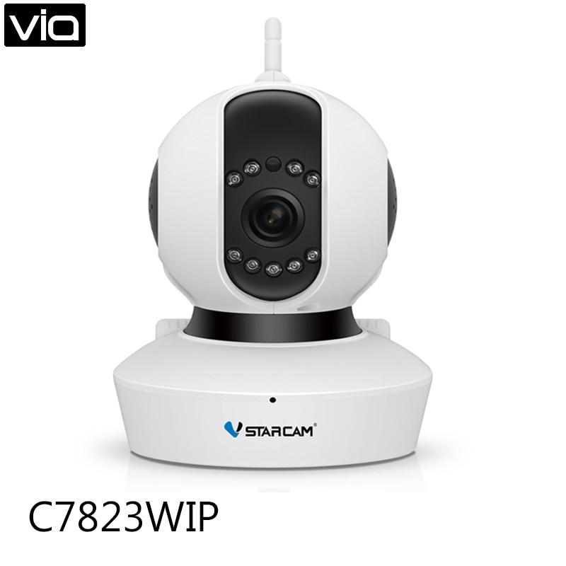 VStarcam C7823WIP Free Shipping HD 720P Wireless IP Camera Wifi Onvif Video Surveillance Security CCTV Network Wi Fi Camera wifi ipc 720p 1280 720p household camera onvif with allbrand camera free shipping