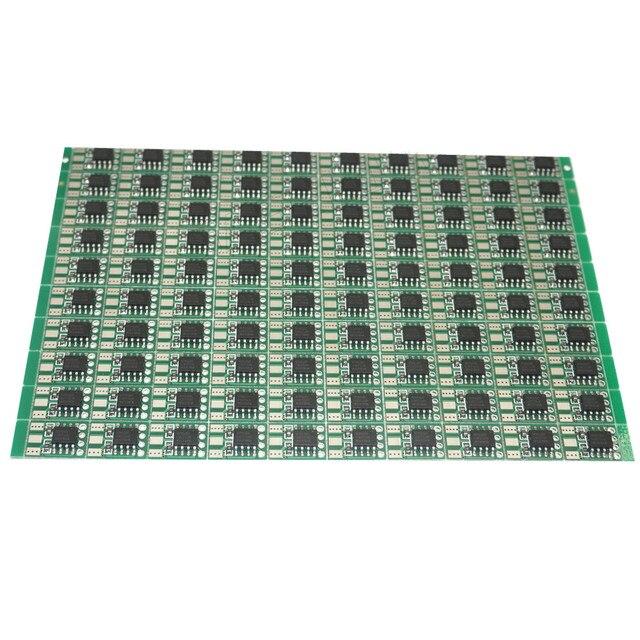 LED גלם חומר שבבי פיקסל מודול אור 100x9x15mm 5 V WS2811 מעגלים PCB כיכר ביצוע WS2811