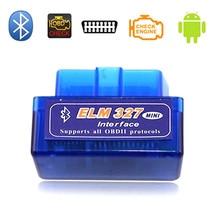 2019 Mini Elm327 Bluetooth OBD2 V1.5 Car Diagnostic Tool ELM 327 V 1.5 Diagnostic Scanner For Android Real PIC18F25K80 Chip цена и фото