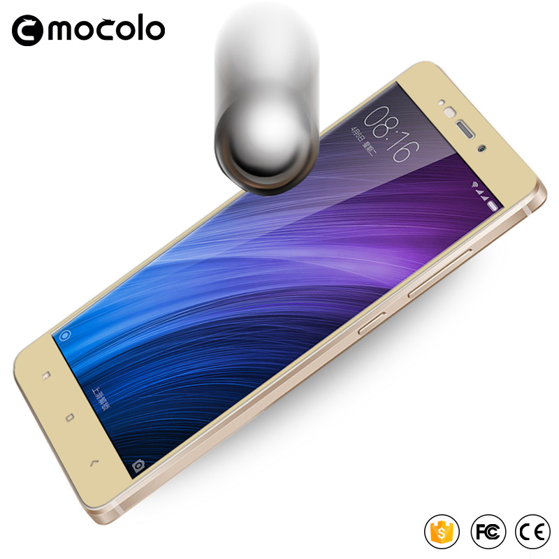 Mocolo xiaomi redmi 4 pro kaca tempered 2.5D penutup penuh kaca - Aksesori dan suku cadang ponsel - Foto 4
