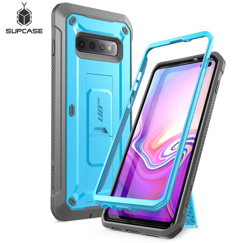 "SUPCASE For Samsung Galaxy S10 Plus Case 6.4"" UB Pro Full Body Rugged Holster Kickstand Cover WITHOUT Built in Screen Protector