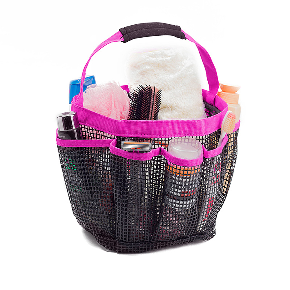 Dry Fast Mesh Portable Shower Caddy Bathroom Carry Bag Shower ...