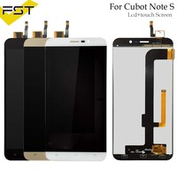 5.5 inch For Cubot Note S LCD Display+Touch Screen Digitizer Assembly For Note S LCD Glass Panel Spare Parts+Tools