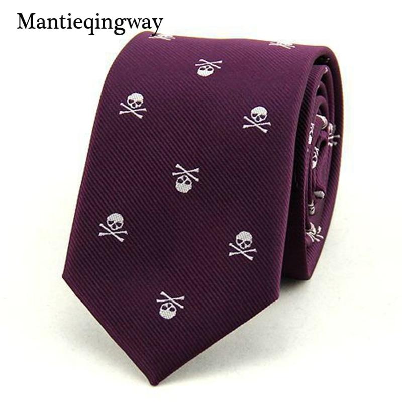Mantieqingway Corbatas para Hombre 6 cm SKINny Poliéster Seda - Accesorios para la ropa - foto 5