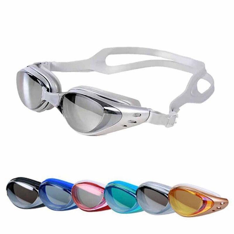 2018 Men women Swimming goggles Anti-Fog professional Waterproof silicone arena Pool swim eyewear Adult Swimming glasses