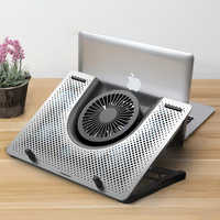 """Cooling Pad Laptop Fan Cooler macbook air pro Notebook Rapid 11"""" 12"""" 13.3"""" 14"""" 15"""" 15.6"""" 17"""" 17.3"""" inch adjustable Laptop Stand"""