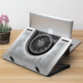 """Almohadilla de enfriamiento ventilador refrigerador para Laptop macbook air pro cuaderno rápido 11 """"12"""" 13,3 """"14"""" 15 """"15,6"""" 17 """"17,3"""" pulgadas ajustable soporte para ordenador portátil"""