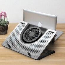"""משטח קירור מחשב נייד מאוורר Cooler macbook air pro מחברת מהיר 11 """"12"""" 13.3 """"14"""" 15 """"15.6"""" 17 """"17.3"""" אינץ מחשב נייד מתכוונן Stand"""