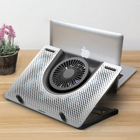 Cooling Pad Laptop Fan Cooler macbook air pro Notebook Rapid 11 12 13.3 14 15 15.6 17 17.3 inch adjustable Laptop Stand
