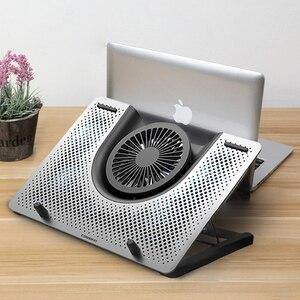 """Image 1 - Pad di raffreddamento Del Computer Portatile Ventola di Raffreddamento macbook air pro Notebook Rapido 11 """"12"""" 13.3 """"14"""" 15 """"15.6"""" 17 """"17.3"""" pollici regolabile Supporto laptop"""