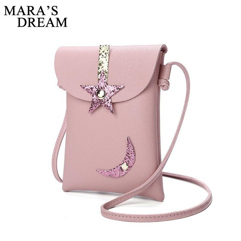 Mara мечта 2018 Новый Для женщин Курьерские сумки PU кожаные женские сумки на ремне Кошелек и Сумки девушки дети Mini Crossbody Bag ...