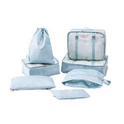 7 шт./лот хорошее качество Для мужчин одежда классифицированные сумки Для женщин масштабных дорожных чемоданов, аккуратные органайзеры