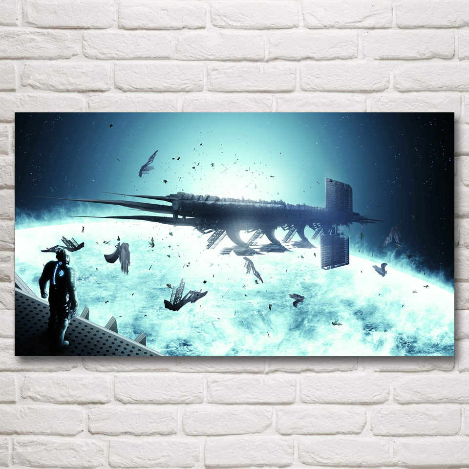 Home Decor Poster HD Pictures Prints Canvas 1 Piece Dead Space 2 3 Hot Video Game Living Room Art Decorative Painting Framed