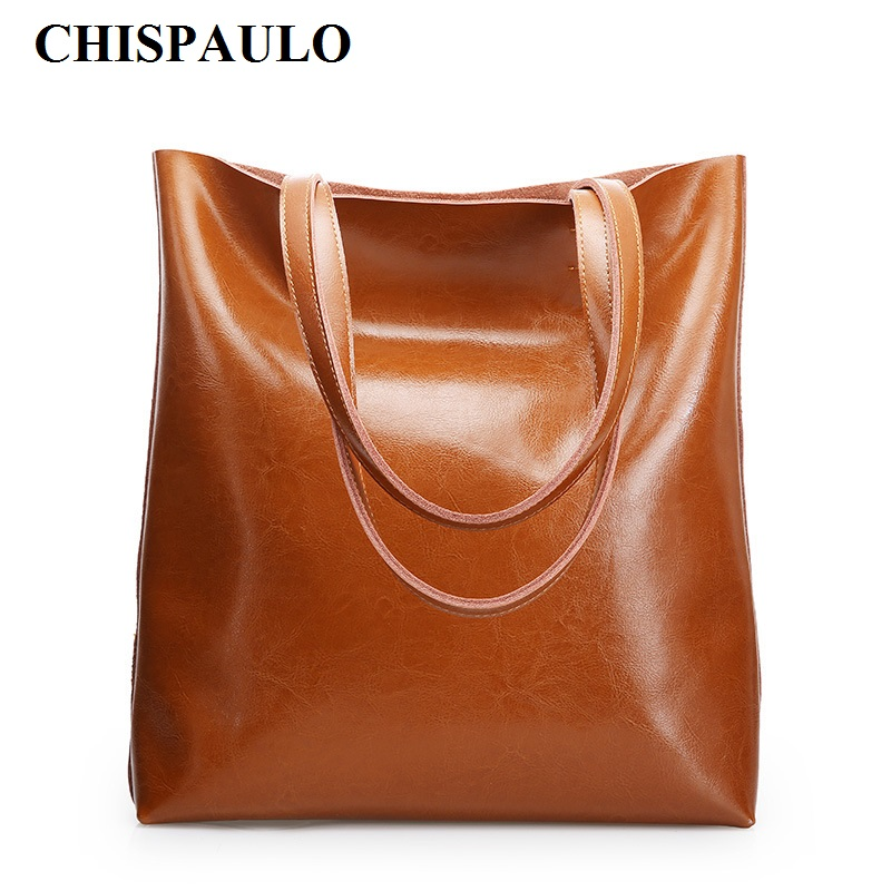 CHISPAULO Women Genuine Leather Handbags Tassel Famous Brands Designer Handbags High Quality Tote Bag Bolsa Femininas new C135