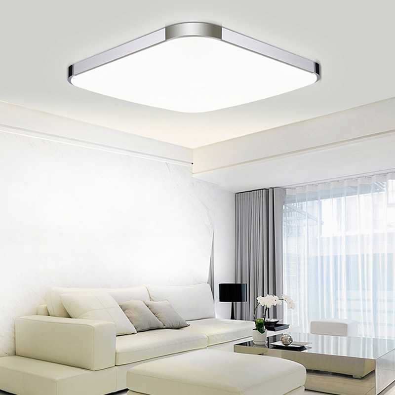Ceiling Lamp Shades For Living Room: Modern LED Ceiling Light Living Room Bedroom LED Ceiling