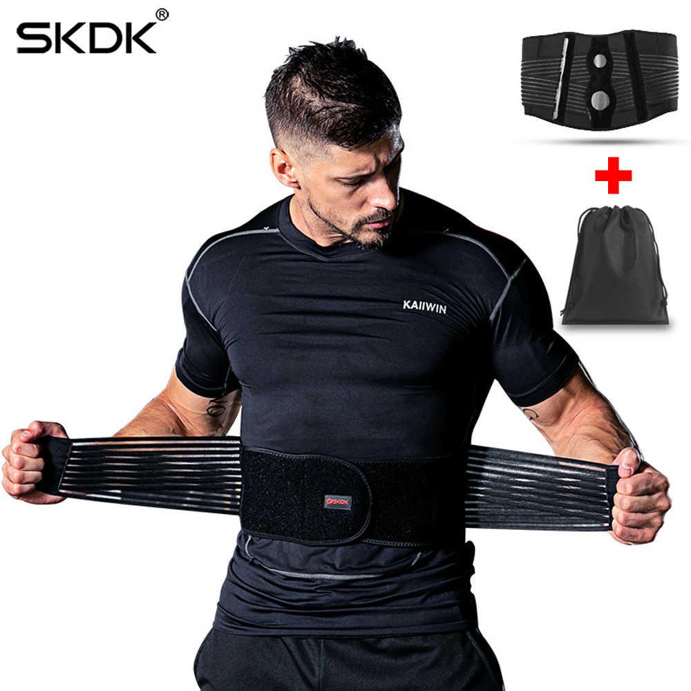af83cf30796 Detail Feedback Questions about SKDK Men Women Adjustable Elastic Waist  Support Belt Lumbar Back Support Workout Belts Brace Slimming Belt Waist  Trainer ...