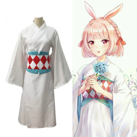 Japanese Kimono Bathrobe Anime Cosplay for Yin Yang Master in Onmyoji Cartoon Vestidos Costumes Adult Halloween Carnival Party