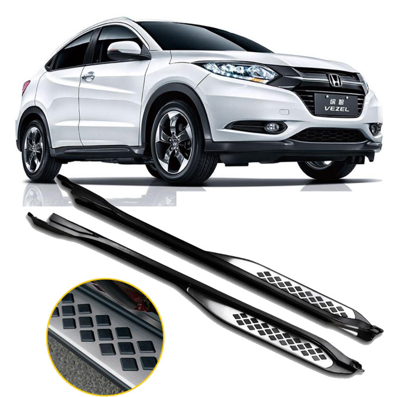 For Honda VEZEL HRV 2014.2015.2016.2017 Car Running Boards Auto Side Step Bar Pedals High Quality Brand New Nerf Bars