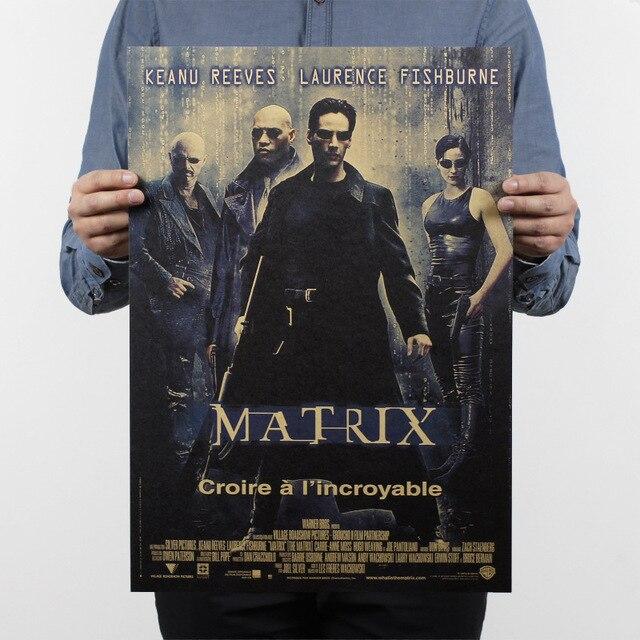 La matrice/affiche de film classique/papier kraft/affiche de barre/affiche rétro/peinture décorative 51x35.5cm de haute qualité