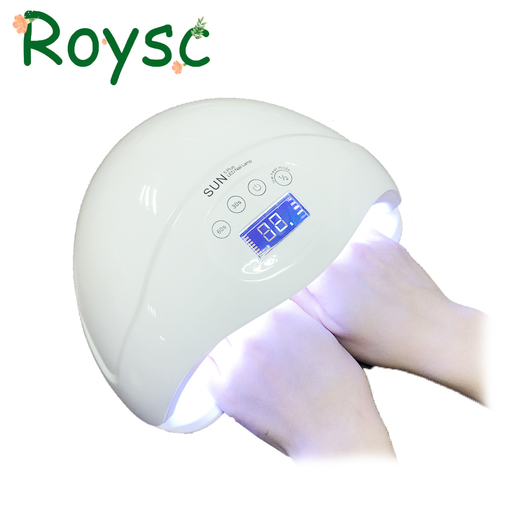 SUN5 Plus UVLED Fast Drying 48W Good Nail Dryer With Sensor Nail Dryer Long Life Curing Nail Tools for All UV Gel Nail Polish nail dryer
