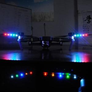 Image 5 - STARTRC DJI Mavic 2 pro LED Flash 8331 eliche Caricatore USB Batteria Ricaricabile Eliche Per DJI Mavic Pro Platino Drone