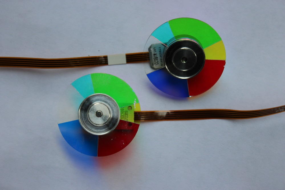 ФОТО 100% New For SANYO DSU30 Projector Color Wheel 6 Segment 40mm