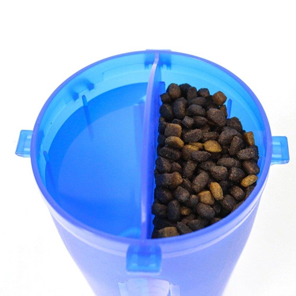 2 в 1 Домашние животные на открытом воздухе, миски для кормления, контейнер, бутылки для воды, для собак, кошек, бутылка для воды, чайник для домашних животных, товары для домашних животных