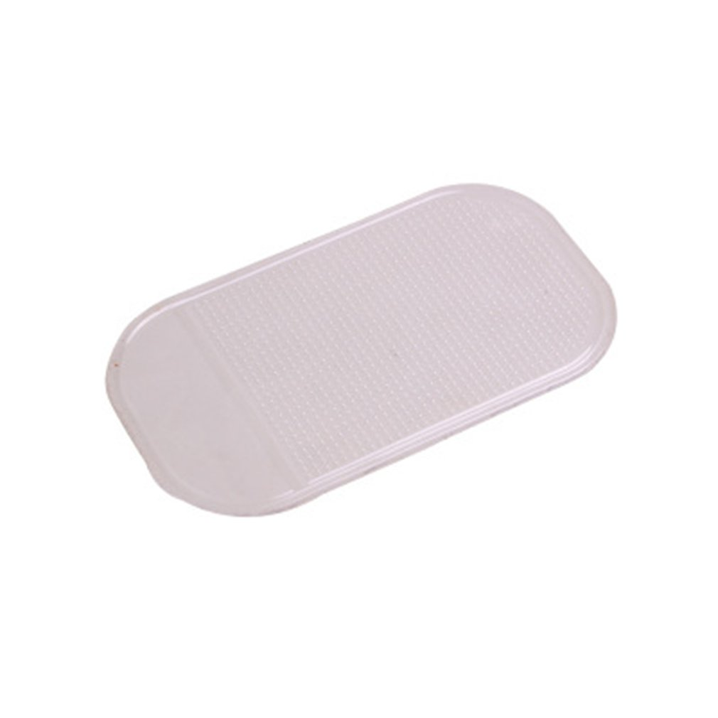 Anti-Slip Car Dash Sticky Gel Pad Non-Slip Universal Mount Holder Mat Washable Silicone Gel Pad Car Accessories