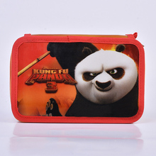 Animal Pencil Case 36 Holes Wrap Roll Up Pencil Pen Bag Holder Case Storage Pouch kungfu Panda Portable School Office Supplies 36 holes portable professional sketch pencil bag pencil case extender eraser pencil case cutter drawing set bag no pencil ass029
