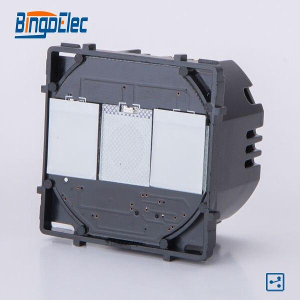 2gang 2way touch light switch modular function part, no panel ,EU/UK standard,Hot sale декаль waffen ss uniform insignia part no 2 nordland division