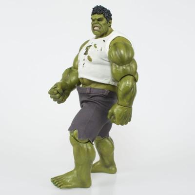 NEW hot Marvel Comics 26cm the avengers Super hero hulk movable action figure toys Christmas gift doll For Kids