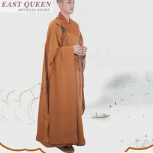 Буддийский монах костюмы Шао Лин одежда в стиле Дзен дзен одеяния буддийских монахов Традиционный китайский буддийский монах FF648 A