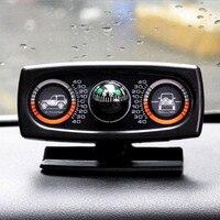 Car Level Wave Instrument Car compass balancer car level meter slope meter SUV guide ball Car Special Slope instrument Tilt