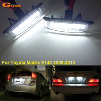 For Toyota Matrix E140 2009 2013 Excellent Ultra Bright 3528 Led License Plate Lamp Light Lamp