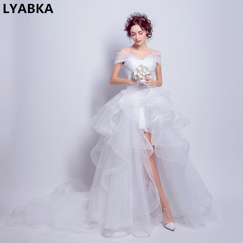 Buy brautkleid high low and get free shipping on AliExpress.com