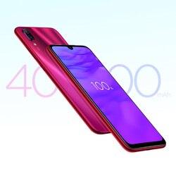 Globalne OTA Rom Xiaomi Redmi Note 7 Pro telefonu komórkowego 6GB pamięci RAM 128GB ROM rdzeniowy Snapdragon 675 Octa pełna ekran 48MP podwójny aparat fotograficzny 4