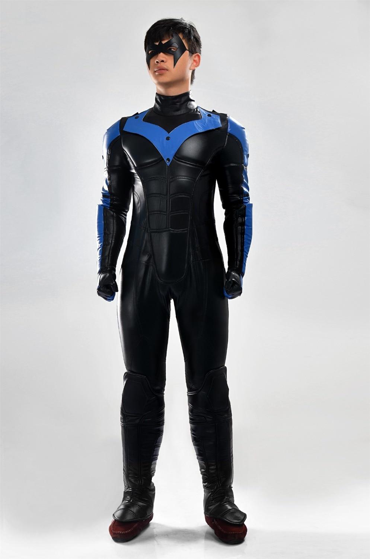 Online Get Cheap Batman Nightwing Costume -Aliexpress.com ...