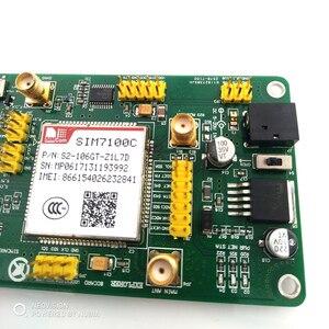 Image 3 - חדש SIM7100C PCIE 4 גרם 4 גרם 3 גרם 2 גרם תקשורת מודול 5 עובש LTE TDD FDD GPS מודול