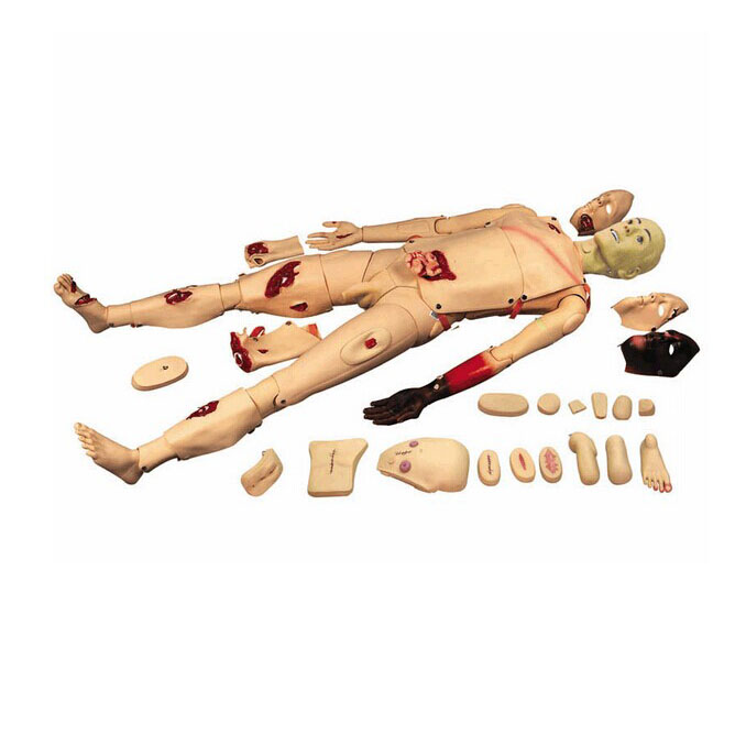 BIX-H111 The Full Function Trauma Nursing Manikin Wound Nursing Simulator WBW073 bix h111 medical science education model full functions trauma nursing manikin w187