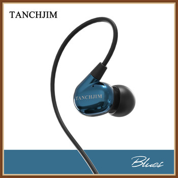 TANCHJIM Blues DMT Dynamic 3.5mm Line Type HiFi Music Monitor DJ Studio In-Ear Earphone Earbuds Special Tuning for Blues Music