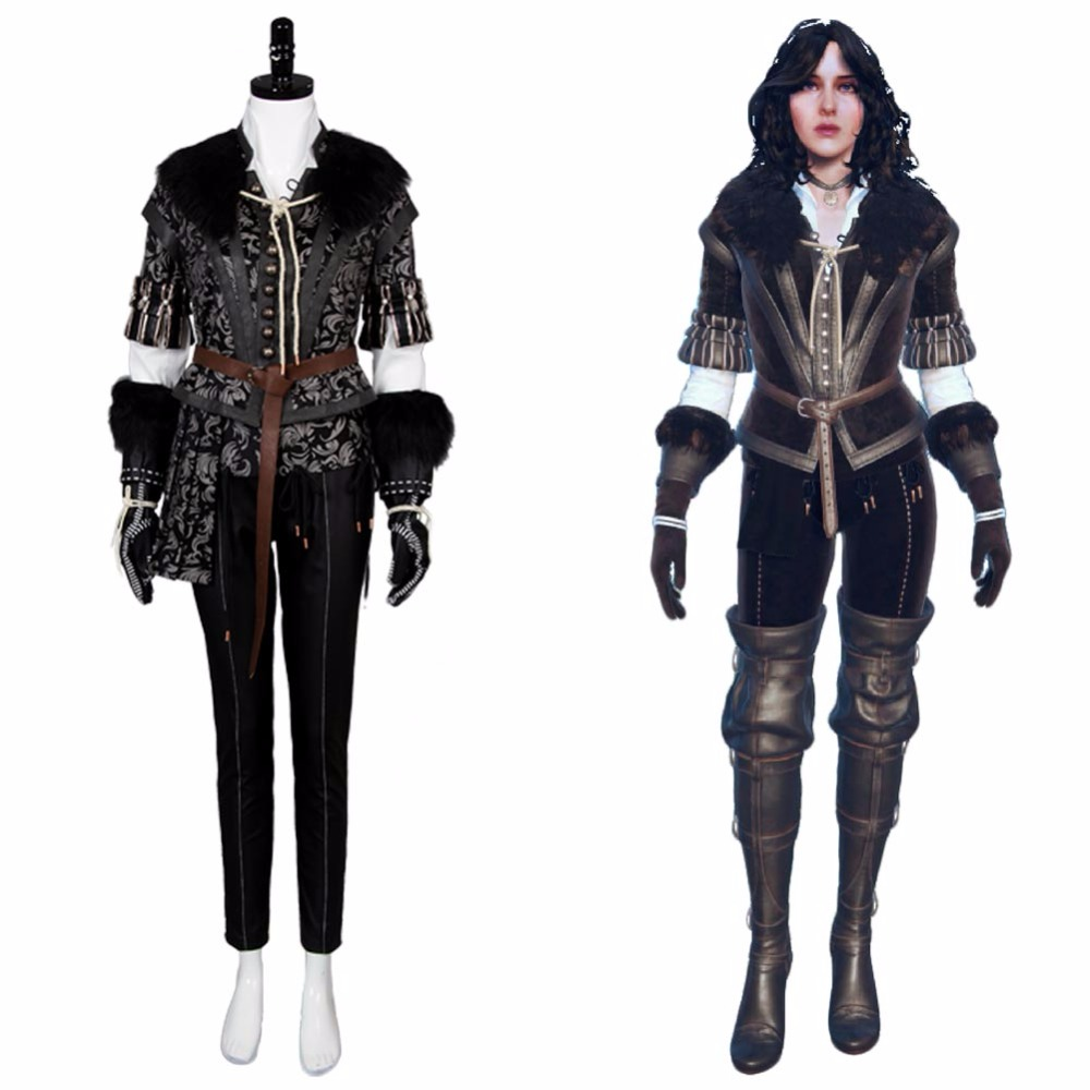Hot The Witcher 3 sauvage chasse Cosplay Yennefer Costume tenue filles femmes Halloween carnaval Costume adulte