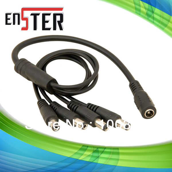 DC Power Lead for CCTV Accessories Cable Multiple DC Cable 4 DC Plug to Socket Cable