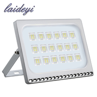 LAIDEYI 100W LED Flood Light Outdoor Led Projector Security Garden Landscape Spotlight Led Reflector Wall Lamp Outdoor Lighting